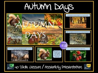 Autumn Days Presentation