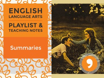 Summaries - Playlist and Teaching Notes