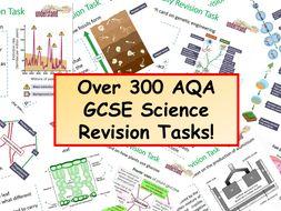300 KS4 AQA GCSE Science Revision Tasks