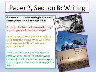 English Language Paper 2 - Section B