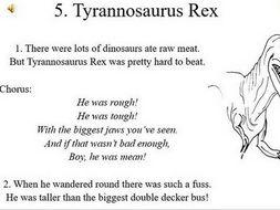 Tyrannosaurus Rex - Dinosaur Song