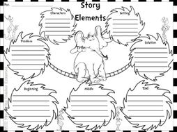 Read Across America- Elements of a Story Bilingual