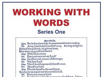 40-lesson Working with Words Series One Scheme of Work