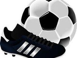 Beim Fußballspiel Lesung - At a Soccer Game German Reading