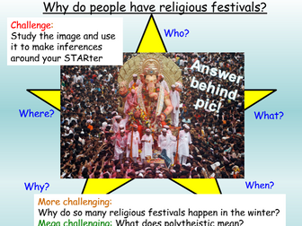 Religious Festivals Introduction