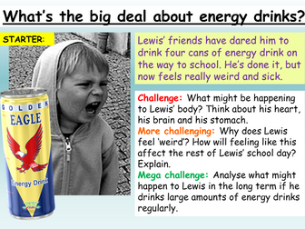 Energy Drinks - Healthy Living