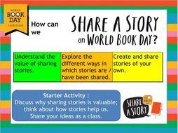 World Book Day Lesson - KS3