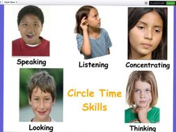 Circle Time Resource Pack for Interactive Whiteboard