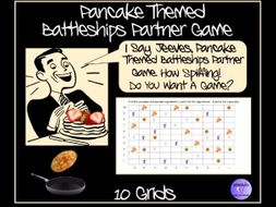 Pancaked Day Themed Coordinates Game