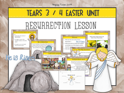 Year 3/ 4 EASTER Resurrection Lesson