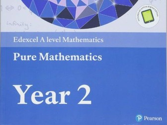 A-level Pure Mathematics Year 2/A2