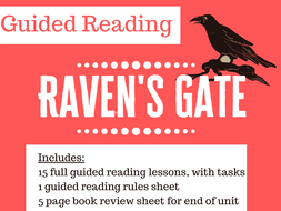 Raven's Gate Anthony Horowitz 15 Lesson Guided Reading SOW