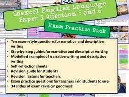 Edexcel English Imaginative Writing