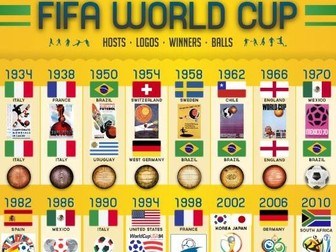 2018 World Cup Booklet with multi curicular activities