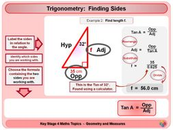 Trigonometry - Right Angled Triangles KS4