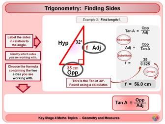 Trigonometry - Right Angled Triangles KS4