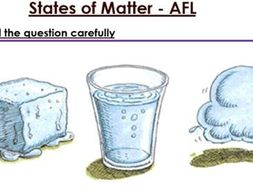 KS3 States of Matter six mark question