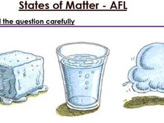 KS3 States of Matter six mark question