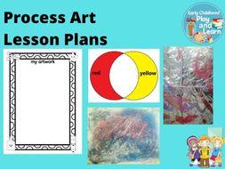 Process Art Lesson Plans Collection