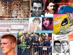 Terrorists x 3 ~ Kaczynski ~ McVeigh ~ Tsarnaev + Quizzes = 84 Slides