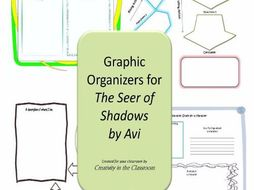 Graphic Organizers for The Seer of Shadows by Avi