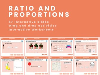 Ratio and proportions - Key Stage 3