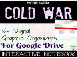 Cold War Digital Interactive Notebook Pages