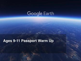 Google Earth Education: 5th Grade Warm Up #GoogleEarth