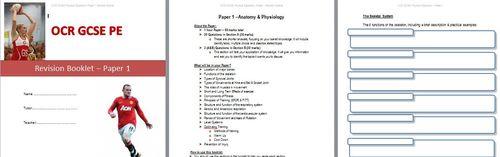 New OCR GCSE PE Paper 1 Revision Booklet