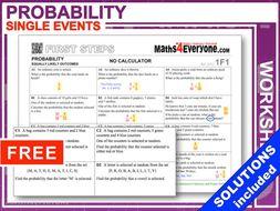 Simple Probability (Classwork or Homework)