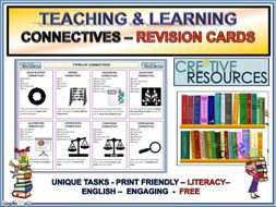 Connectives - Literacy & English