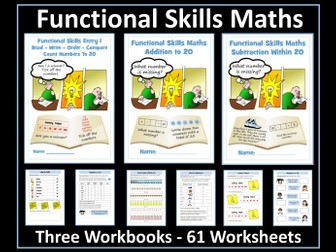 Functional Skills Maths - Entry Level 1 - Using Numbers and the Number System