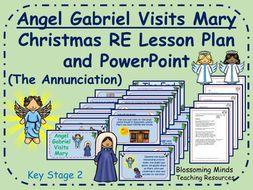 Christmas RE lesson KS2 - Angel Gabriel Visits Mary
