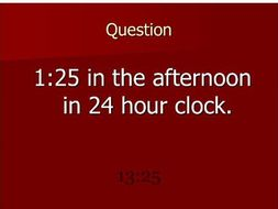 Bingo Converting Time 12 and 24 hour Clock