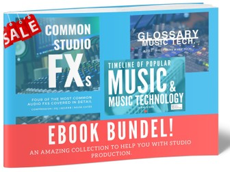 Music Production eBooks-BUNDLE