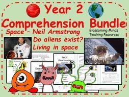 Year 2 Space Comprehension Bundle - Science