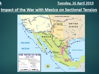 Impact of Mexican-US War on Sectionalism