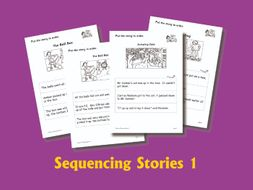SEQUENCING STORIES BOOK 1