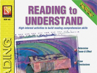 Reading to Understand: Specific Skills Series