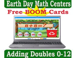Adding Doubles 0-12 Boom Cards
