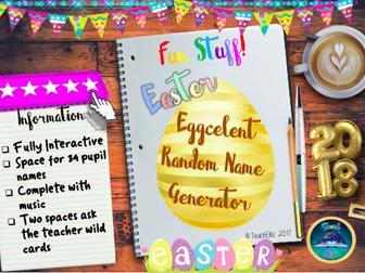 Easter : Easter Random Name Generator