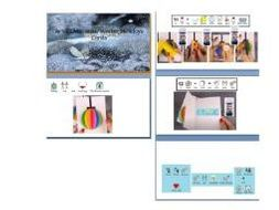 Winter holiday (Christmas) 3D card art - Step by step - How to make 3D wishing cards widgit symbolis