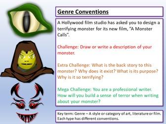 AQA English Language Paper 1 Genre