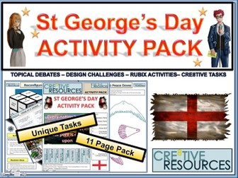 Saint George's Day Activity Pack