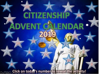 Citizenship Advent Calendar