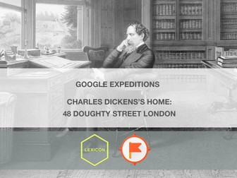 Charles Dickens's Home 48 Doughty Street London #GoogleExpeditions Lesson