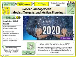 Career Management -Goals, Targets and Action Planning