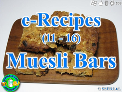 44. Muesli Bars (e-Recipe)