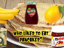 Lent - Pancake day