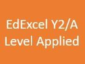 EdExcel AS/A Level Applied Maths Year 2 - Student Chapter Booklets and Dr Frost Presentation